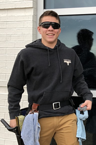 Joshua Lowry of Fayetteville Window Washing